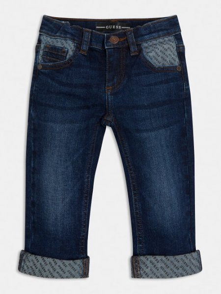 GUESS Skinny Jeans mit Logodetails 10631987