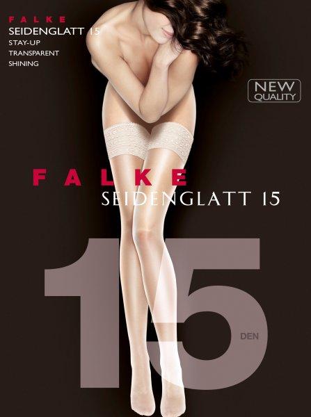 FALKE Seidenglatt 15 DEN halterlose Strümpfe 10476120