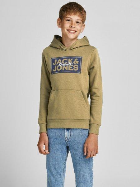 JACK&JONES Sweathoodie mit Logo Print 10627259