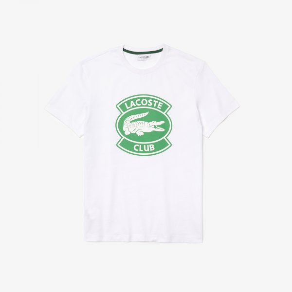 LACOSTE T-Shirt Club Aufnäher 10590250