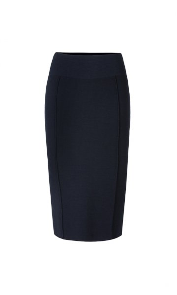 MARC CAIN High-Waist-Rock Knitted in Germany 10589505