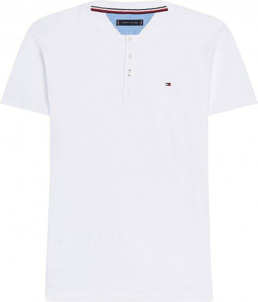 TOMMY HILFIGER Bio-Baumwoll Shirt mit Henley-Kragen 10602145