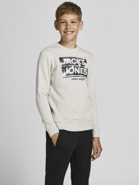 JACK&JONES Sweatshirt mit Camo-Logo-Print 10627260