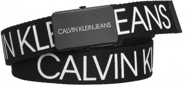 CALVIN KLEIN Logo Gürtel aus Canvas 10617642