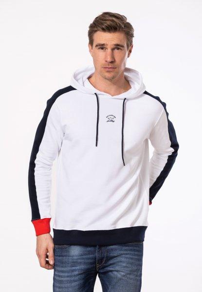 PAUL & SHARK Sweatshirt m. Kapuze 2 farbig 10601826