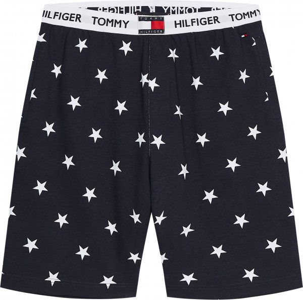 TOMMY HILFIGER Lounge Shorts mit Sternen-Print 10602154