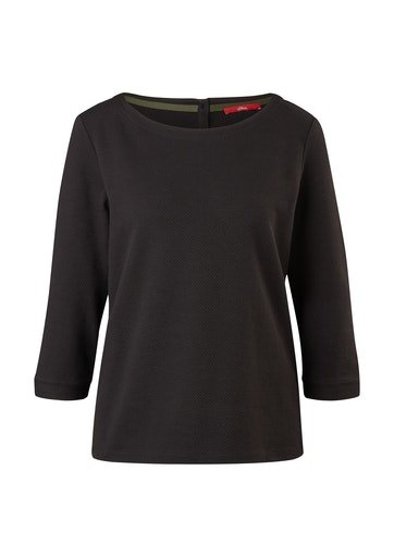 S.OLIVER Jacquard-Shirt 10622876