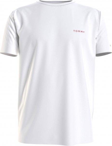 TOMMY HILFIGER T-Shirt aus Baumwolle mit gestickten Logo 10602139