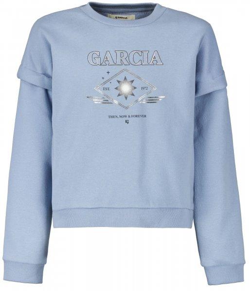 GARCIA Sweater mit Print 10627349