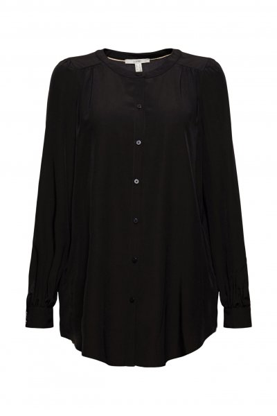 ESPRIT CASUAL Long-Bluse mit LENZING™ ECOVERO™ 10628207