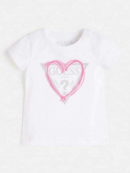 GUESS T-Shirt mit Herz 10632089