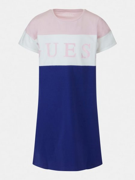 GUESS T-Shirt in Colorblock Look 10632960