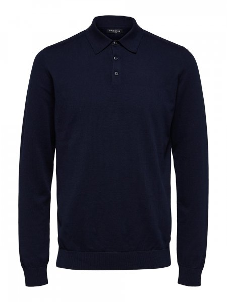 SELECTED Strickpolo 10614908