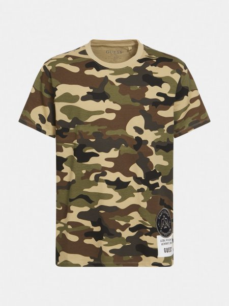 GUESS T-Shirt mit Tarnmuster 10638938