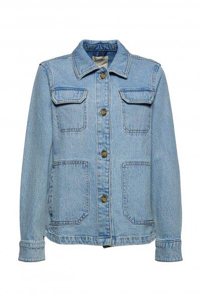 ESPRIT CASUAL Jeans-Overshirt aus Organic Cotton 10627225