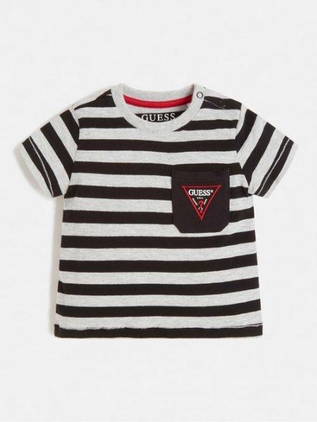 GUESS Gestreiftes T-Shirt 10632072
