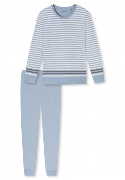 SCHIESSER Sportive Stripes Schlafanzug lang 10638100