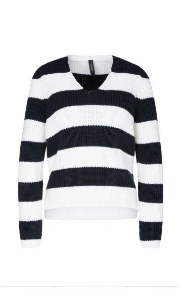 MARC CAIN Pullover mit Blockringeln 10589613