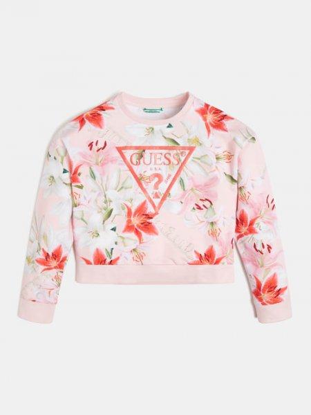 GUESS Sweatshirt mit Floralprint 10631973