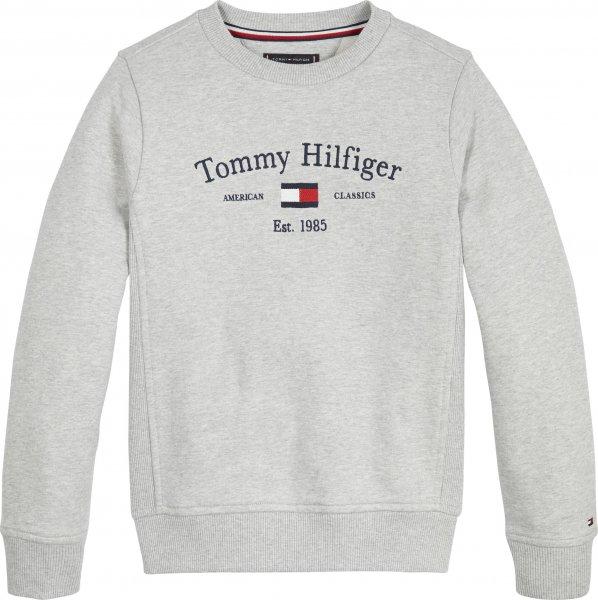 TOMMY HILFIGER Jungen Rundhalspullover aus Bio-Baumwolle 10617386