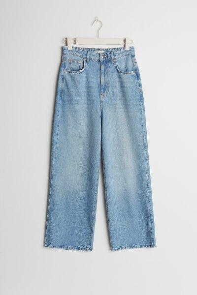 GINA TRICOT Idun Cropped Wide Jeans 10616705