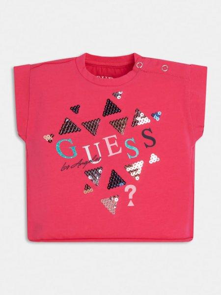GUESS T-Shirt mit Pailletten 10632953