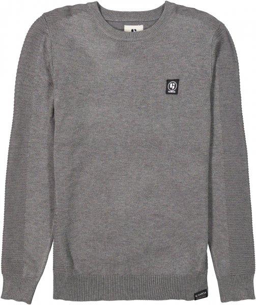 GARCIA Unifarbener Pullover mit gerippten Details 10627863