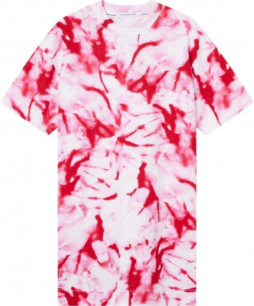 CALVIN KLEIN JEANS AOP T-SHIRT DRESS 10603161
