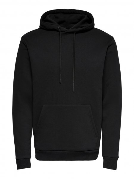 ONLY & SONS EINFARBIGER HOODIE 10621471