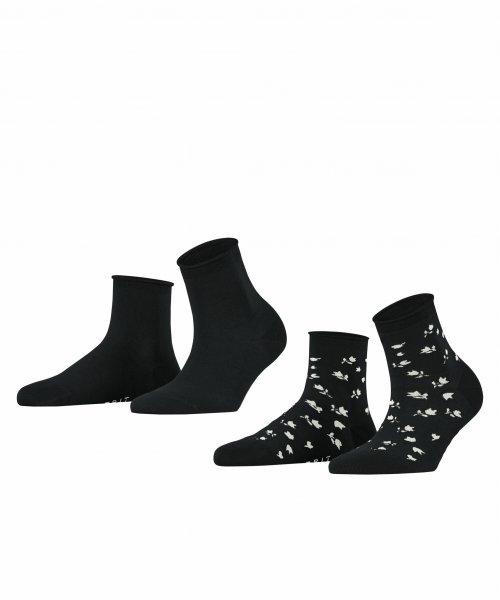 ESPRIT Mini Flower 2-Pack Damen Socken 10636768