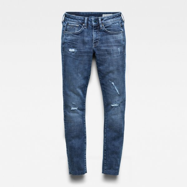 G-STAR 3301 Mid Skinny Ankle Jeans 10636420