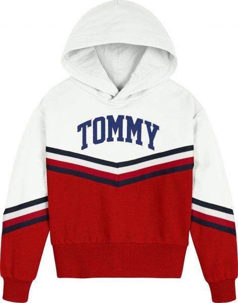 TOMMY HILFIGER Mädchen Hoodie mit Chevron-Streifen 10617519