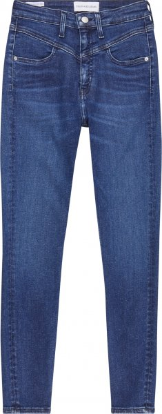 CALVIN KLEIN JEANS High Rise Super Skinny Ankle Jeans 10617334