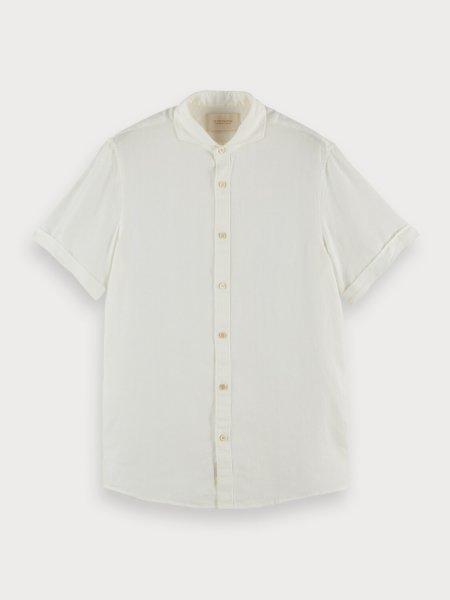 SCOTCH & SODA Kurzärmliges Leinenhemd 10605260