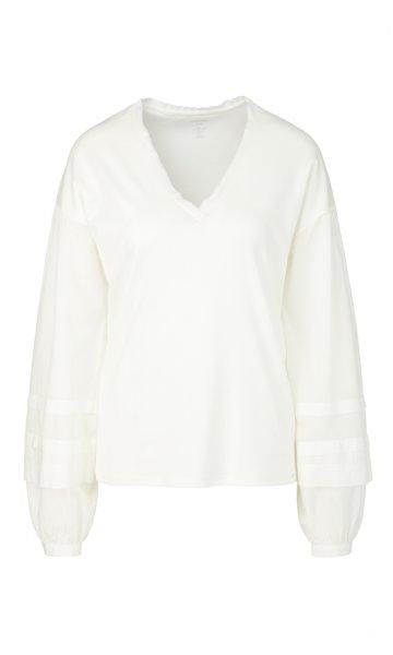 MARC CAIN Jerseyshirt mit Blusenärmeln 10589529