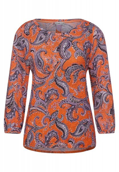 STREET ONE Cosy Shirt mit Paisleymuster 10621269