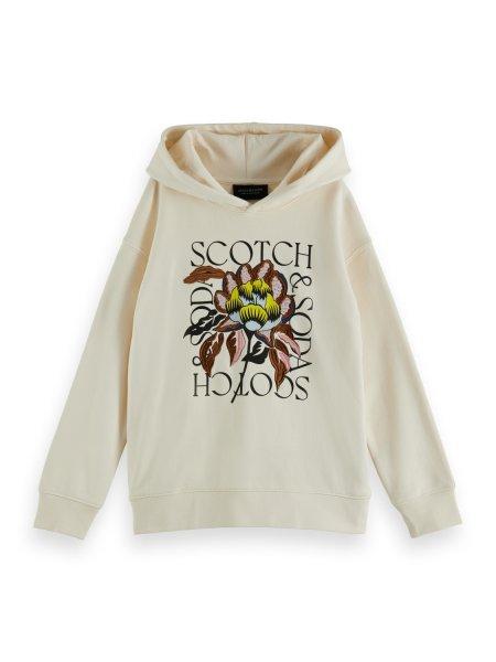 SCOTCH & SODA Hoodie mit Grafik 10626402