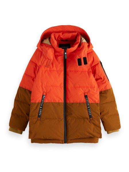SCOTCH & SODA Wasserabweisende Jacke im Colorblock-Design 10626383