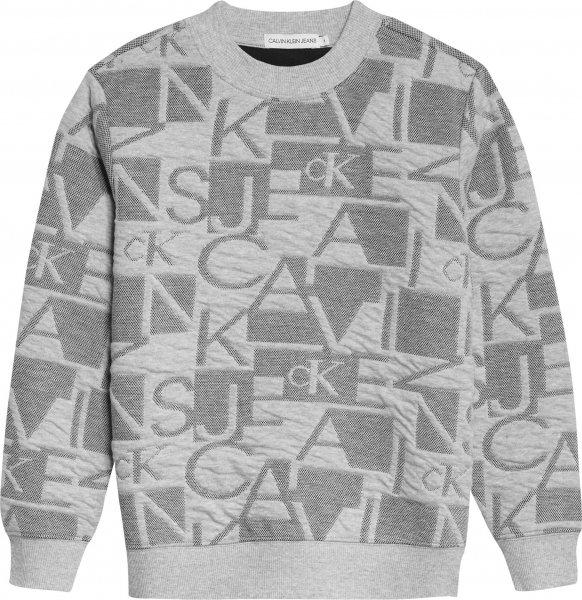 CALVIN KLEIN Lässiges Jacquard-Logo Sweatshirt 10617661