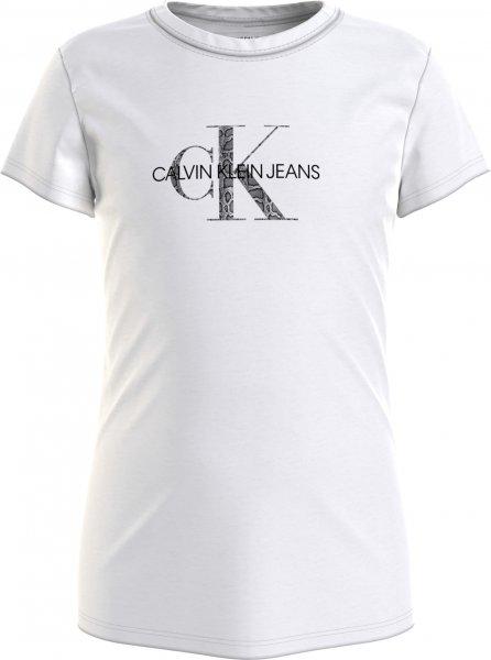 CALVIN KLEIN Schmales Logo T-Shirt aus Bio-Baumwolle 10617934