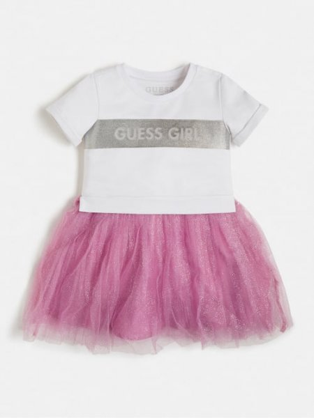 GUESS Kleid mit Netzeinsatz 10632083